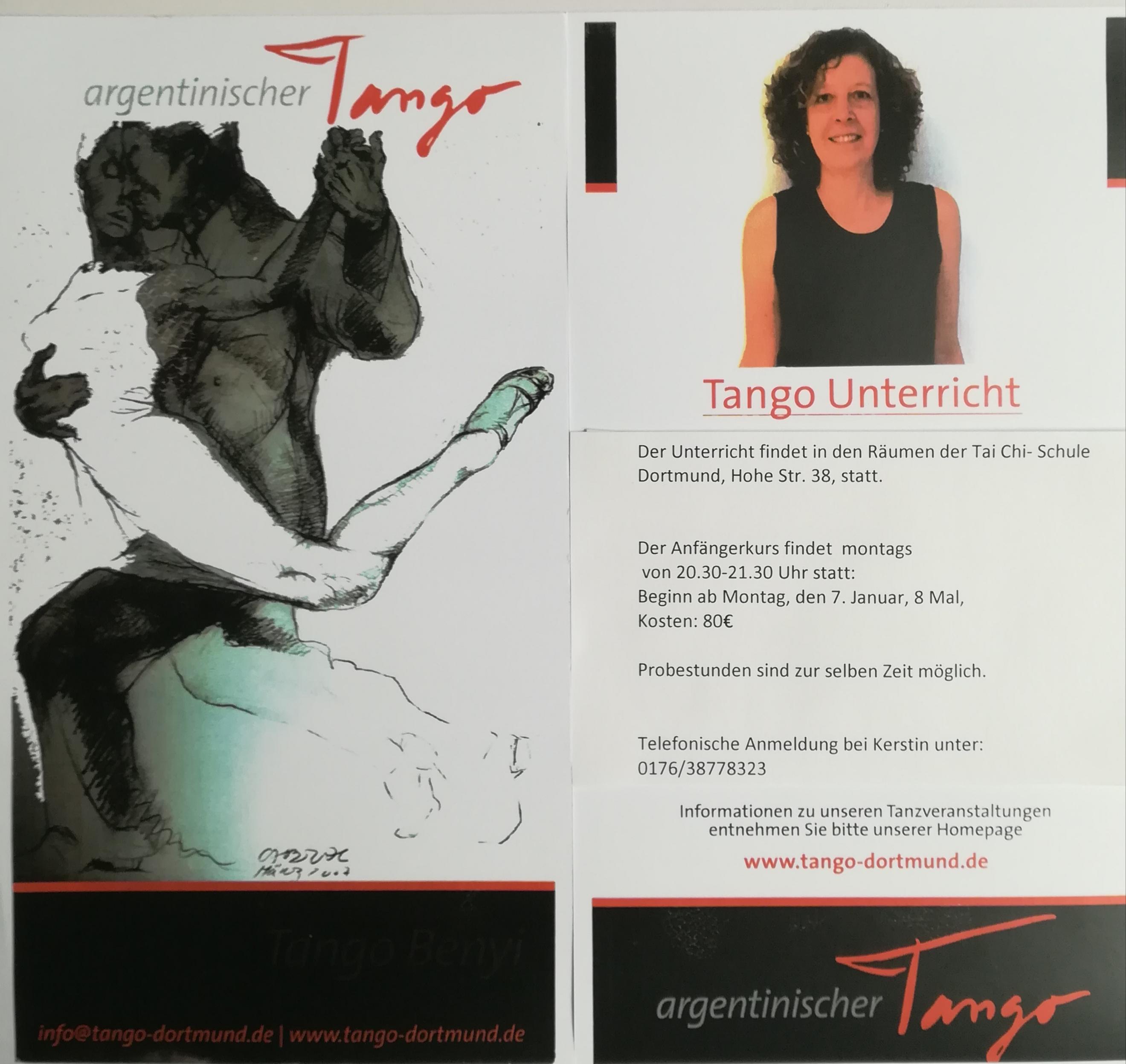 Tango Unterricht in Dortmund